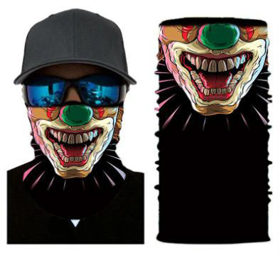 Trick or Treat Clown Face Mask