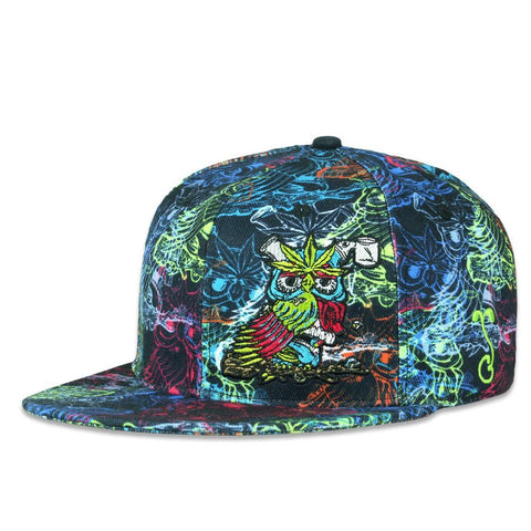 Grassroots Aaron Brooks Herbowl Rainbow Fitted