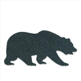 GRC Wavy Blue Removable Bear Patch