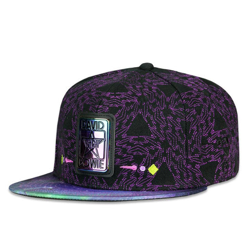 Grassroots David Bowie Purple Galaxy Fitted