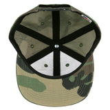Grassroots Made in USA Venice Beach Camo Snapback