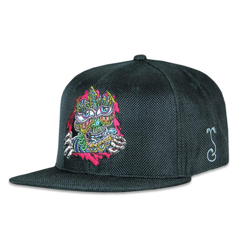 Grassroots Chris Dyer Ripper Black Snapback