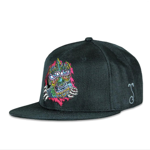 Grassroots Chris Dyer Ripper Black Fitted