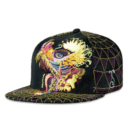 Grassroots Android Jones V2 Humming Dragon Snapback