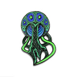 Grassroots Phil Lewis Green Jellyfish Pin