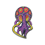 Grassroots Phil Lewis Orange Jellyfish Pin