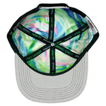 Grassroots Jerry Garcia Removable Fish Black Snapback