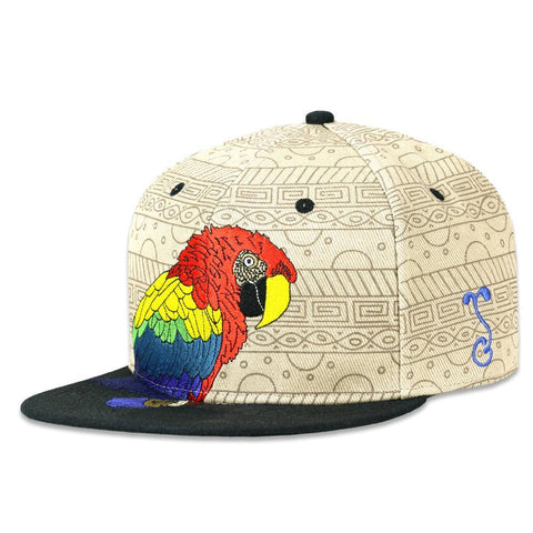 Grassroots Macaw Tan Fitted