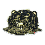 GRC Aaron Brooks Melty Bear Black Iron-On Patch