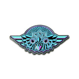 Grassroots Night Owl Blue Pin