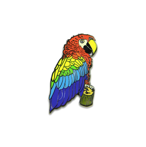 Grassroots Macaw Pin