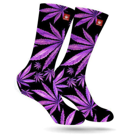 StonerDays Purps Weed Stoner Socks