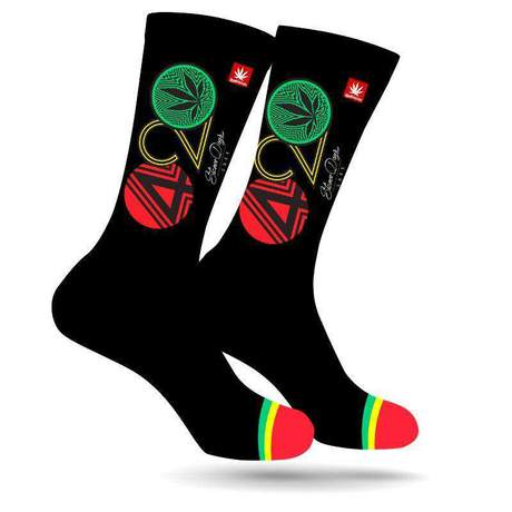 Stonerdays 420 Rasta Weed Socks