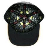 Grassroots Rasta Gold Bear Fitted Hat