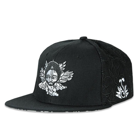 Grassroots Ras Terms Black Snapback