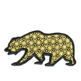 GRC Sacred Geometry Gold Removable Bear Patch