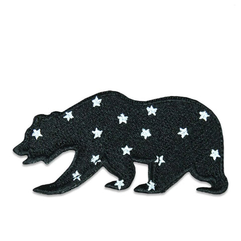 GRC Space Program Stars Removable Bear Patch