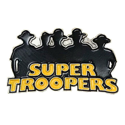 Herbivore Super Troopers Squad Pin