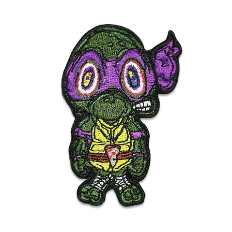 GRC Vincent Gordon Turtles Purple Iron-On Patch