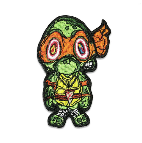 GRC Vincent Gordon Turtles Orange Iron-On Patch