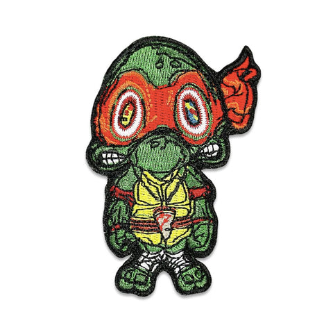GRC Vincent Gordon Turtles Red Iron-On Patch