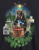 Stonerdays Men's 'Bear Free Dabs' Tee