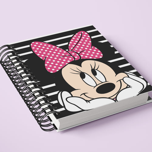 Minnie Mouse Notebook Journal Gratitude Journal Grateful, Daily Devotions, Gratitude Notebook, Meditation Writing Journal, Notebook, Blessings Journal - Simply Fab Chic