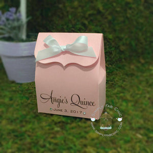 Quinceanera Sweet 16 Birthday Favor Bag - Simply Fab Chic
