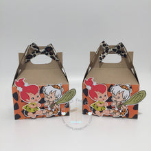 Load image into Gallery viewer, Bam Bam Pebbles Flintstones Favor Box | Birthday Party Gable Favor Treat Boxes - Simply Fab Chic