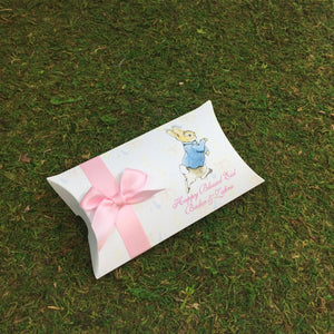 Peter Rabbit Pillow Personalized Favor Box - Simply Fab Chic