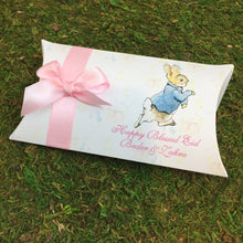 Load image into Gallery viewer, Peter Rabbit Pillow Personalized Favor Box - Simply Fab Chic