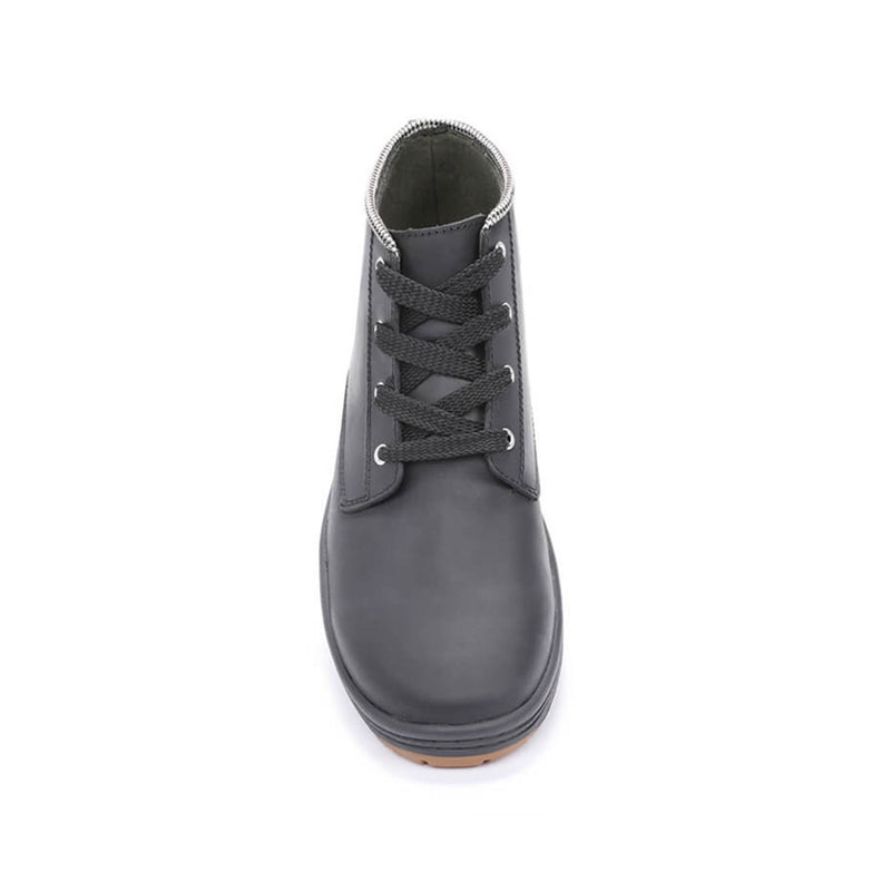Color:Black-Simple Barney Leather Boot