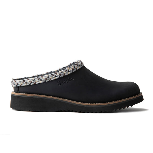 Color:Black-Simple Original Clog Leather
