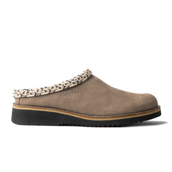 Color:Taupe-Simple Original Clog Suede