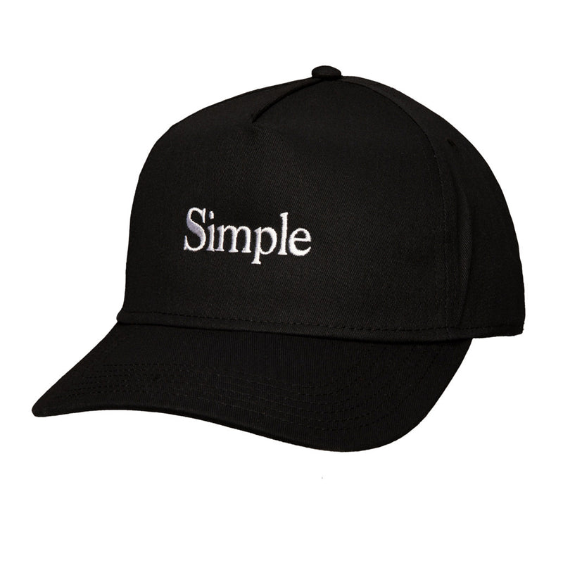 Color:Black-Simple Logo Baseball Hat