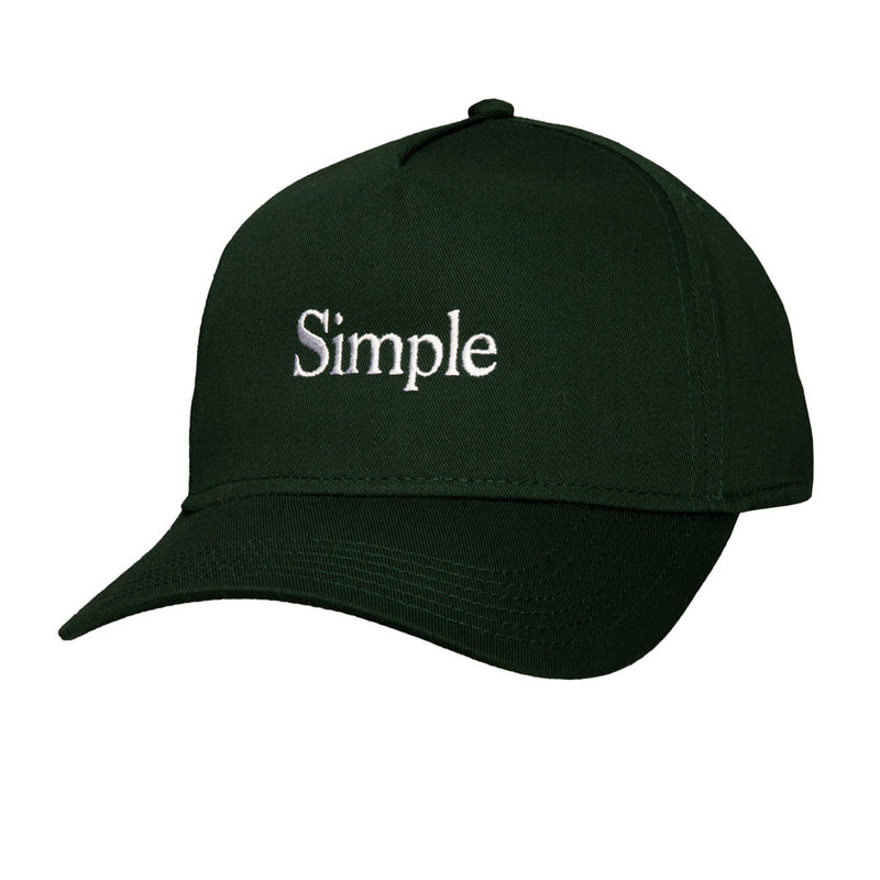 Color:Green-Simple Logo Baseball Hat