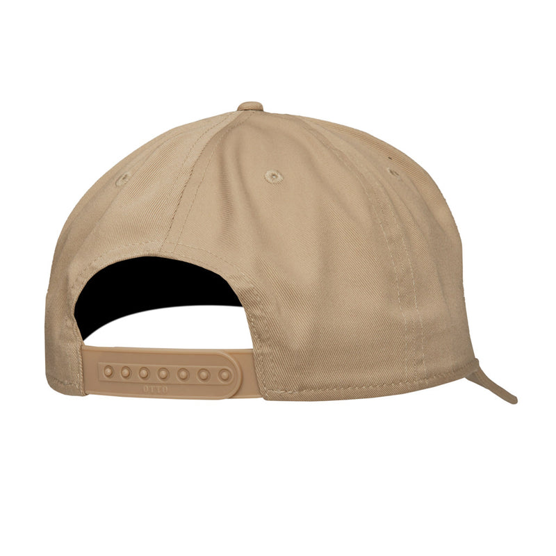 Color:Khaki-Simple Logo Baseball Hat -alt