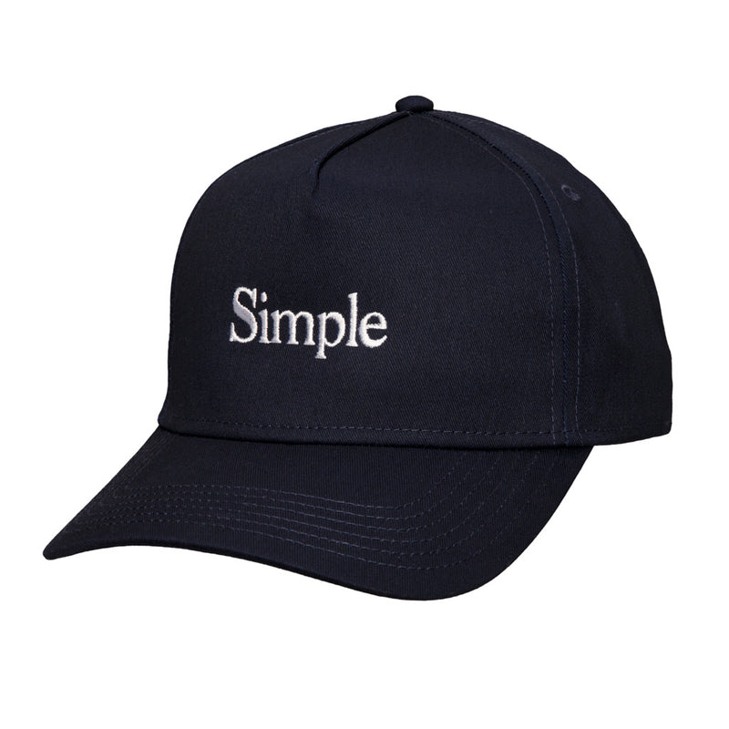 Color:Navy-Simple Logo Baseball Hat