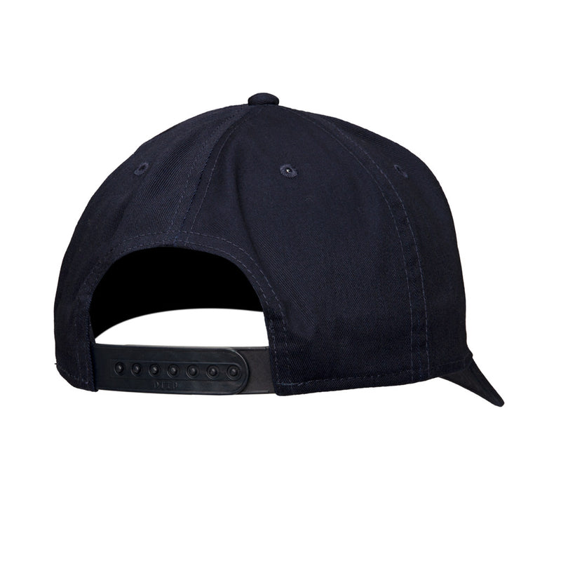 Color:Navy-Simple Logo Baseball Hat -alt