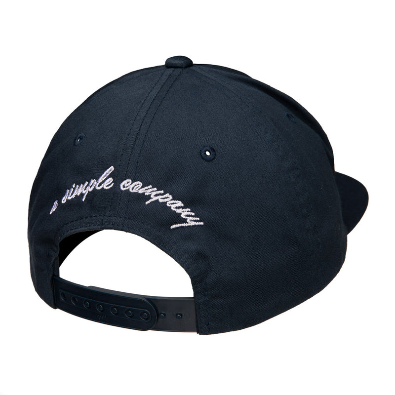 Color:Navy-Simple Logo Unstructured Hat -alt
