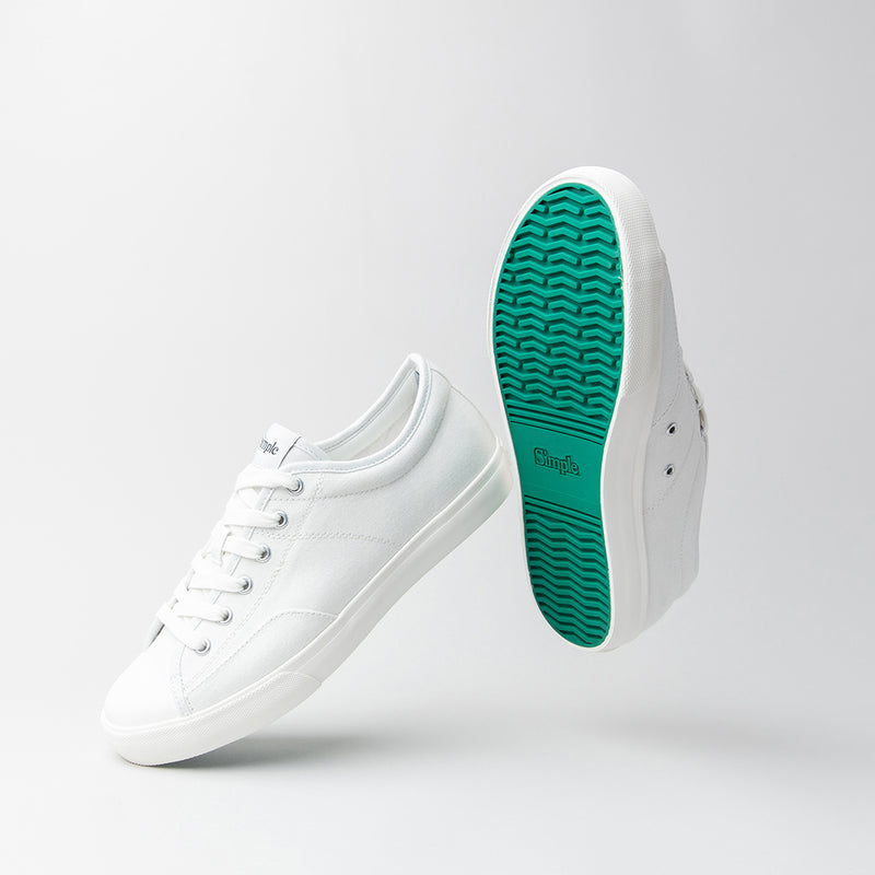 Color:White-Simple S1 Canvas