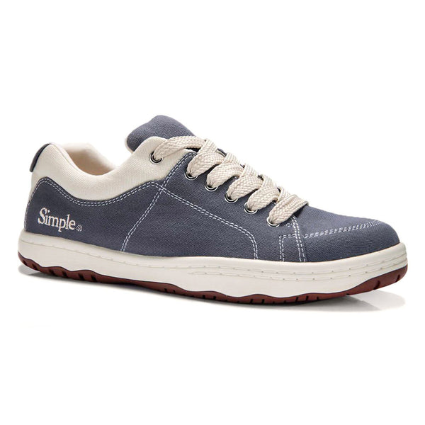 Color:Denim-Simple OS Sneaker Canvas -alt