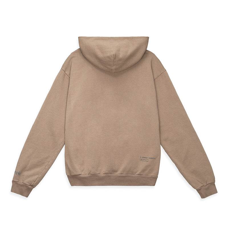 Color:Sand-Simple Standard Issue Midweight Hoodie