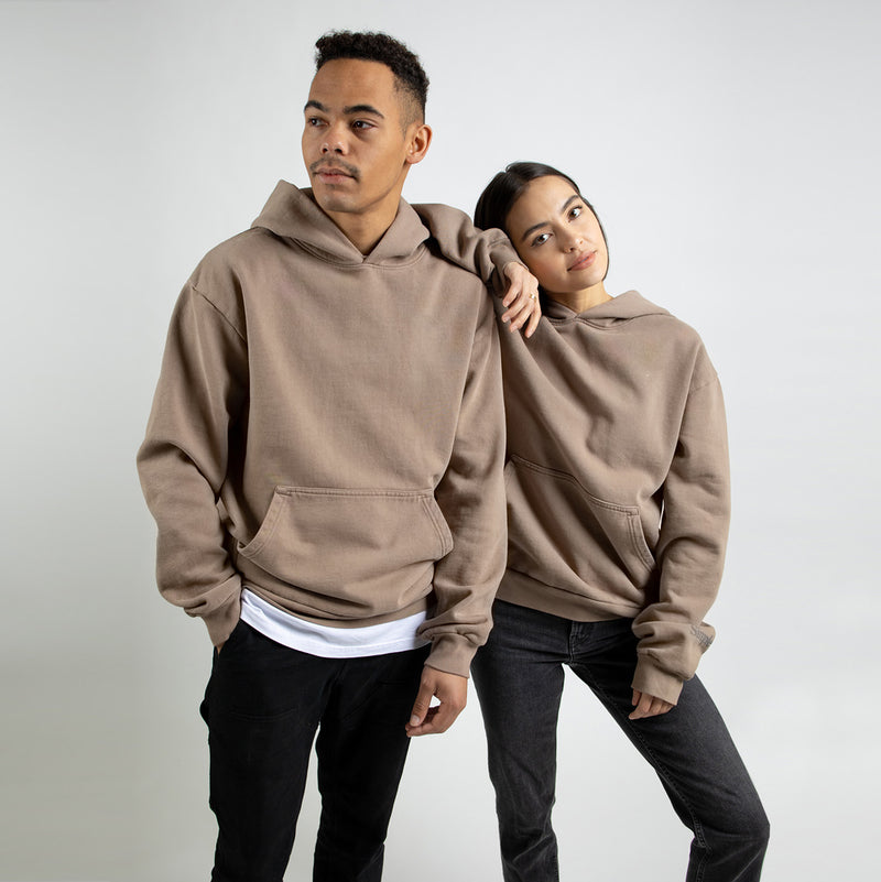 Color:Sand-Simple Standard Issue Midweight Hoodie -alt