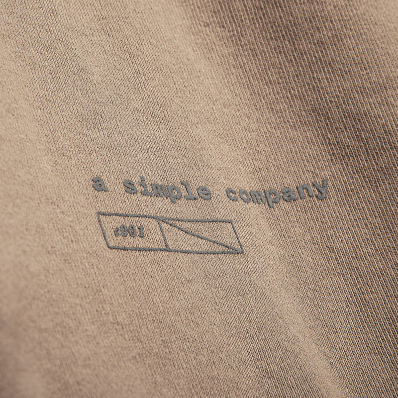 Color:Sand-Simple Standard Issue Midweight Crew