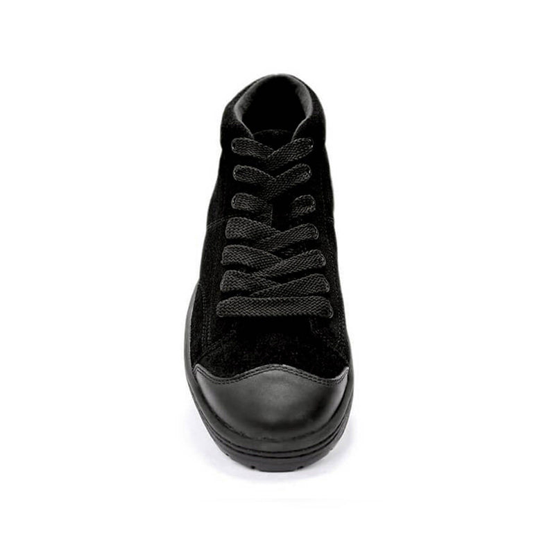 Color:Tripleblack-Simple Retro 91 Mid Suede