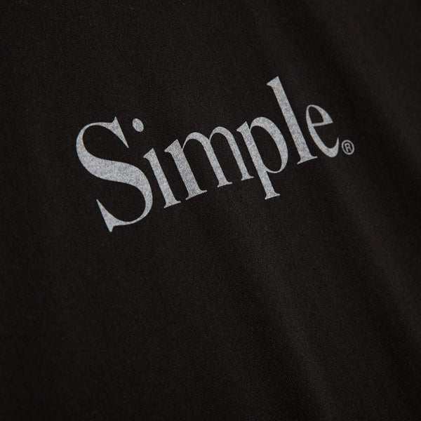 Color:Black-Simple Standard Issue Tee -alt