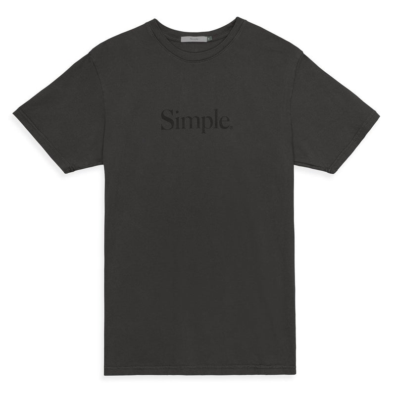 Color:Charcoal-Simple Standard Issue Tee