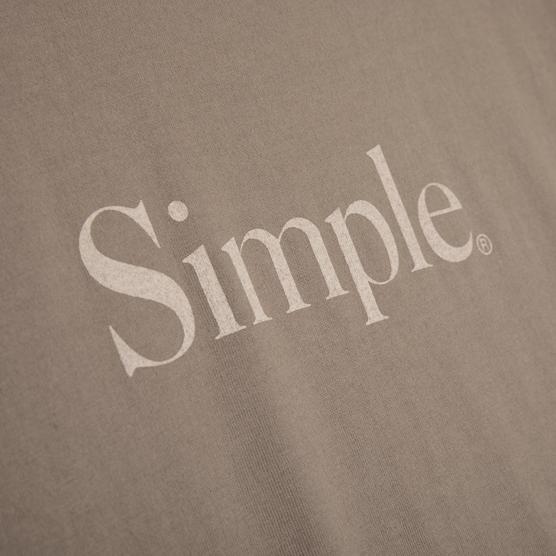 Color:Sand-Simple Standard Issue Tee -alt