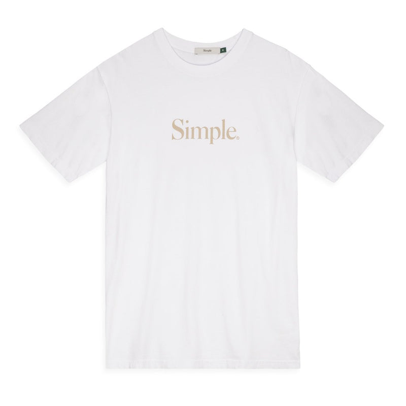 Color:White-Simple Standard Issue Tee